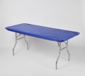 Rental store for TABLECOVER, 6  ELASTIC, Blue in West Bend WI