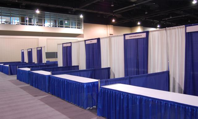 Where to find EXPO BOOTH, 10  X 10 in West Bend