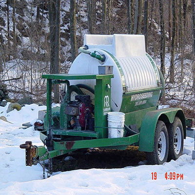 Where to find HYDROSEEDER, 600GAL. in West Bend