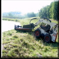 Where to rent SKIDLOADER, BRUSH MOWER 72 in West Bend WI