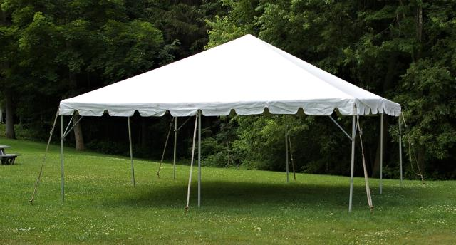 Where to find TENT, 15 X 15 FRAME, WHITE in West Bend