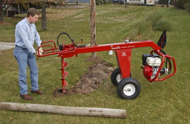 Where to find POST HOLE DIG., TOWABLE HYD in West Bend