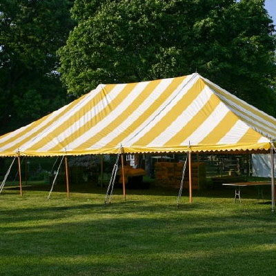 Where to find TENT, 40 X 60 POLE, Y W in West Bend