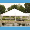 Rental store for TENT, 40 X 40 POLE, WHITE in West Bend WI