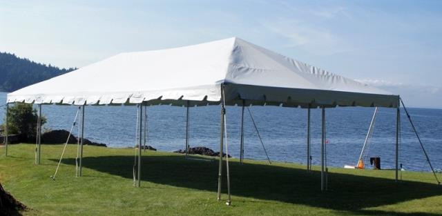 Where to find TENT, 20 X 40 FRAME, WHITE in West Bend