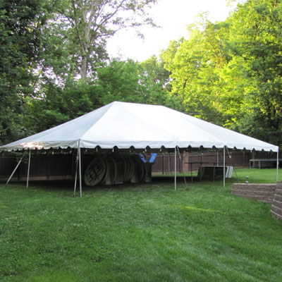 Where to find TENT, 20 X 50 FRAME, WHITE in West Bend