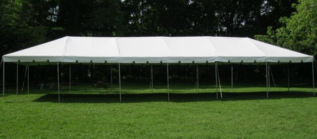 Where to find TENT, 20 X 60 FRAME, WHITE in West Bend