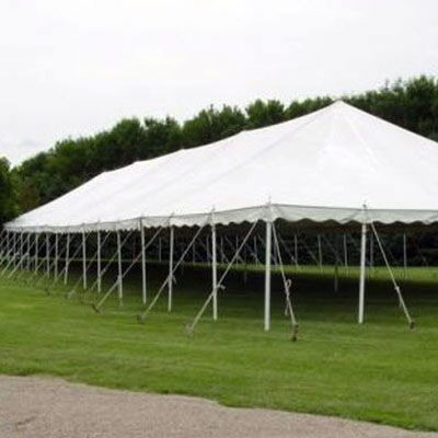 Where to find TENT, 40 X 100 POLE, WHITE in West Bend