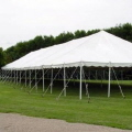 Rental store for TENT, 40 X 100 POLE, WHITE in West Bend WI