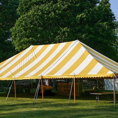 Where to find TENT, 40 X 120 POLE, Y W in West Bend