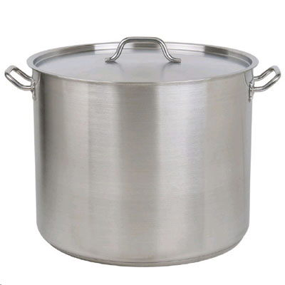 Where to find STOCK POT, 38 QT. W LADLE in West Bend