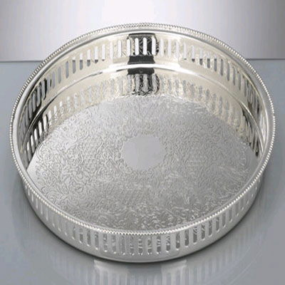 Where to find SILVER TRAYS, 15  ROUND in West Bend