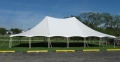 Rental store for TENT, 40 X 60 TENSION, WEDDING WHITE in West Bend WI