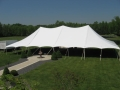 Rental store for TENT, 40 X 80 TENSION, WEDDING WHITE in West Bend WI