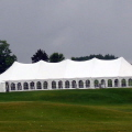 Rental store for TENT, 40 X 120 TENSION, WEDDING WHITE in West Bend WI