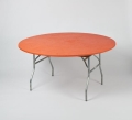 Rental store for TABLECOVER, 60  ELASTIC, Orange in West Bend WI