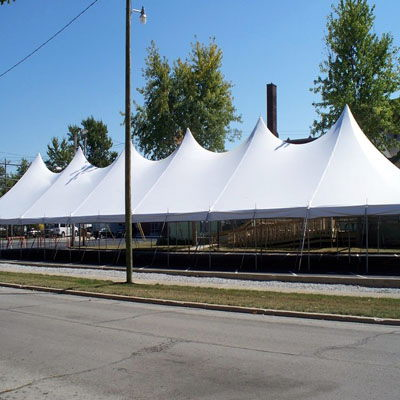 Where to find TENT, 40 X 140 TENSION, WEDDING WHITE in West Bend