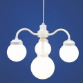 Rental store for CHANDELIER LIGHT, 4 GLOBE WHITE in West Bend WI