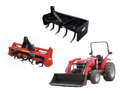 Rent Tractor & Attachments
