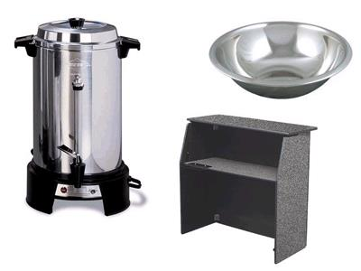 Food & Beverage Equipment Rentals in Hartford WI, Slinger, Cedarburg, Germantown, West Bend, Milwaukee and SE Wisconsin